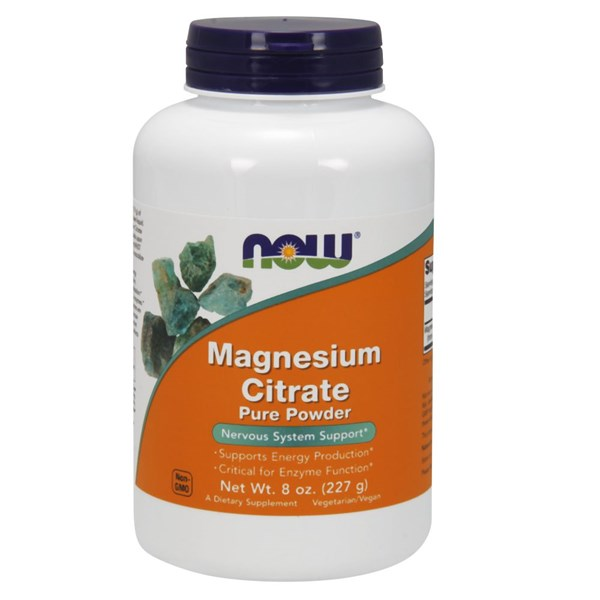 Magnesium Citrate 8 OZ by Now Foods