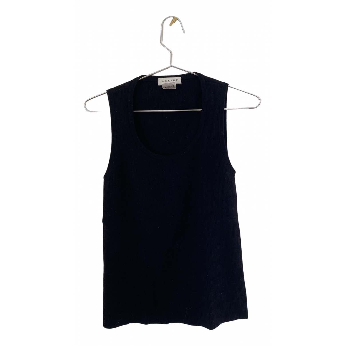 Celine \N Black Wool  top for Women 40 FR