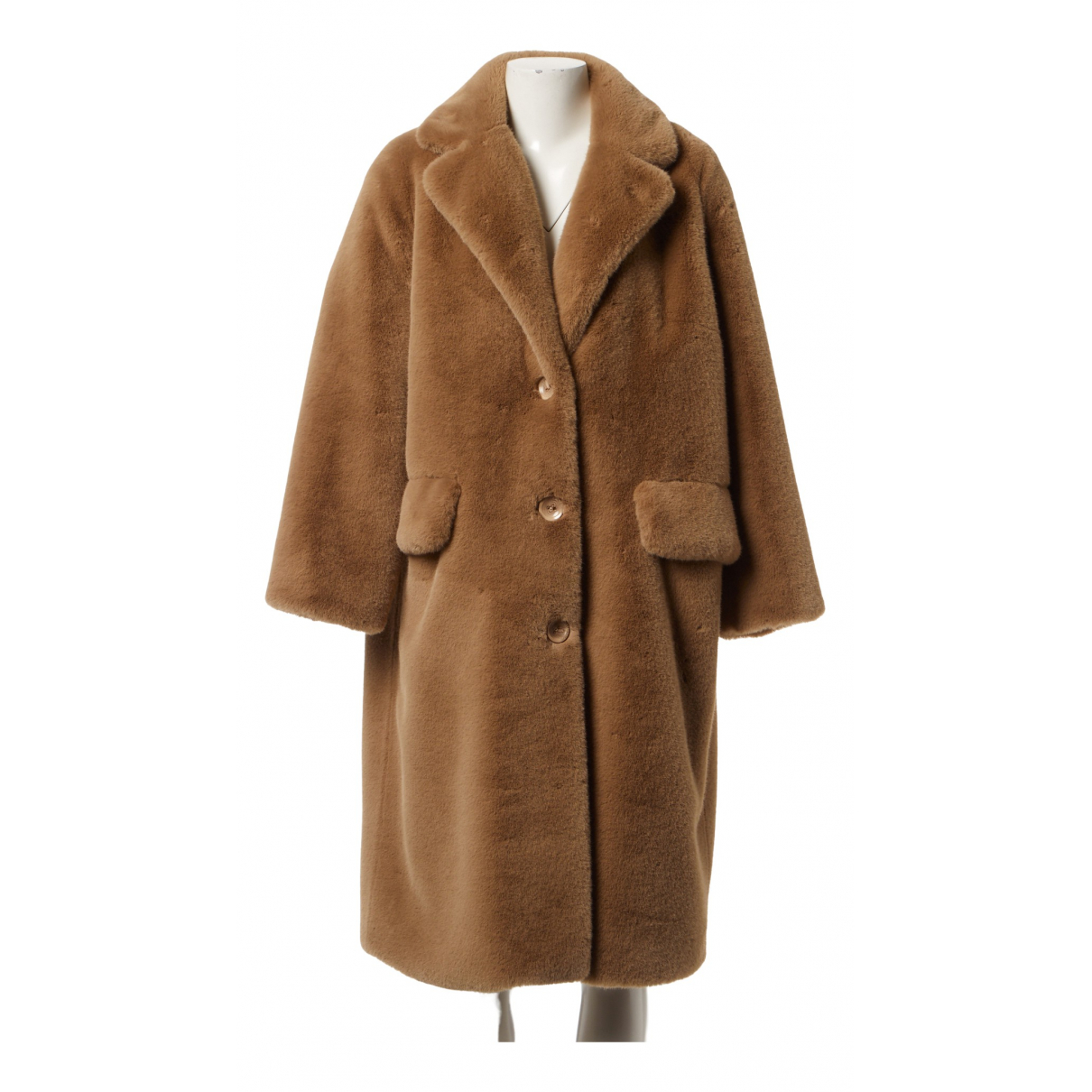 Stand Studio \N Beige coat for Women 34 FR