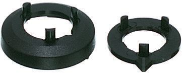 OKW Nut Cover, Nut Cover Type, Black, For Use With Collet Knob