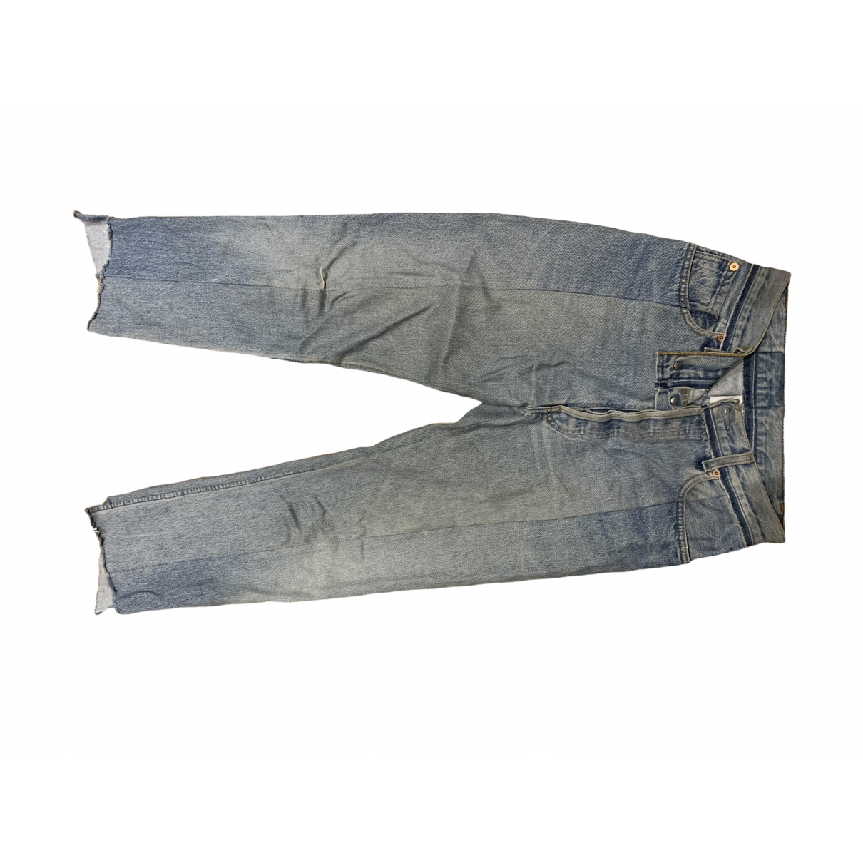Vetements X Levi's \N Blue Denim - Jeans Jeans for Women 36 FR