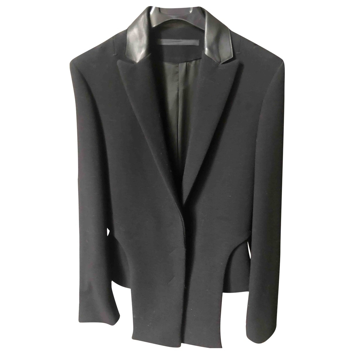 Costume National \N Black Wool jacket for Women 40 IT
