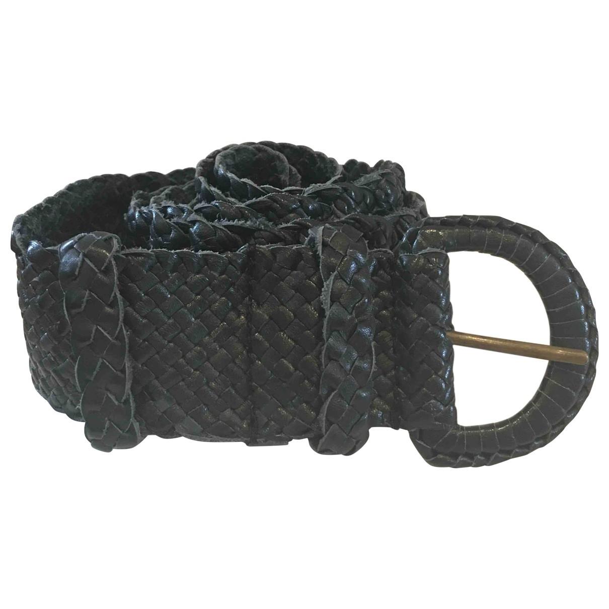 Nicole Farhi \N Black Leather belt for Women L International