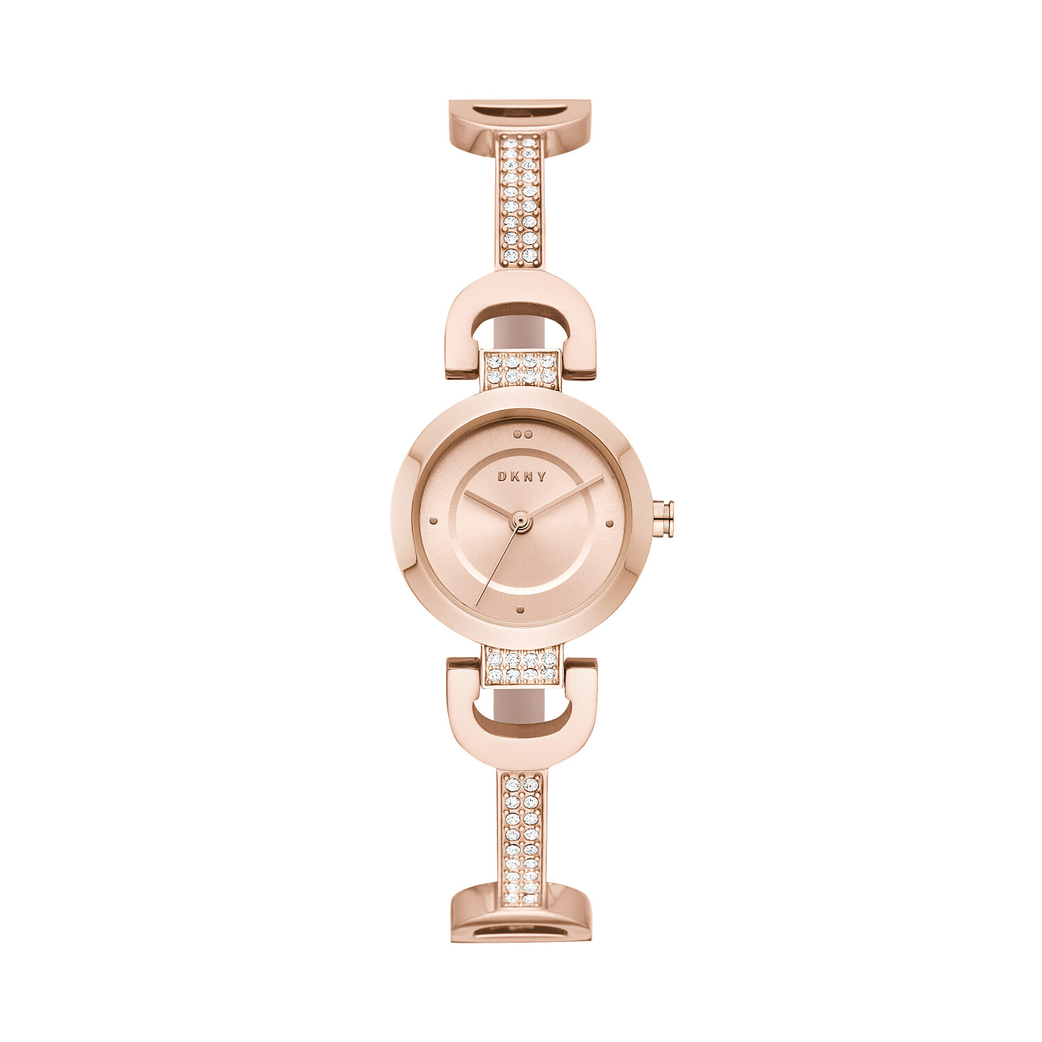 Dkny Women's City Link NY2752 Rose-Gold Stainless-Steel Quartz Fashion Watch