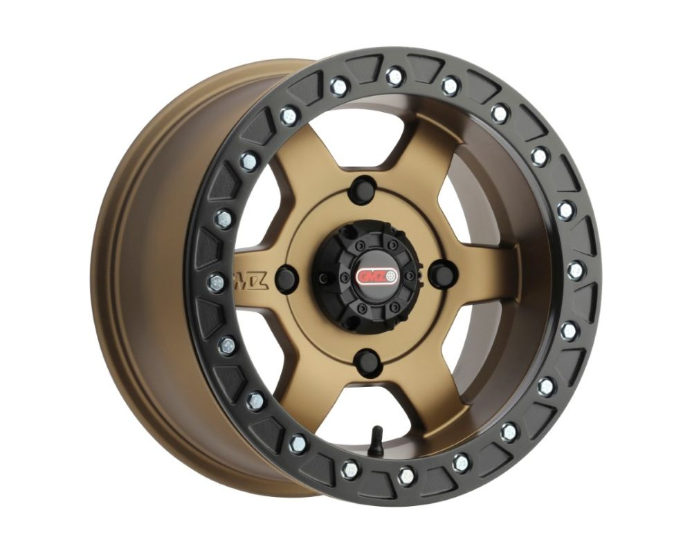 Method GZ803 Casino Beadlock Wheels 15x10 4x136 0mm Bronze w/ Matte Black Ring