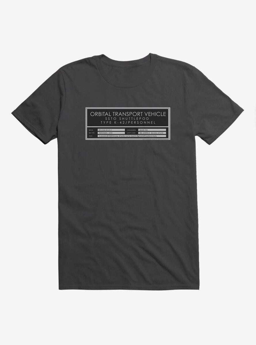 Star Trek Orbital Transport Vehicle T-Shirt