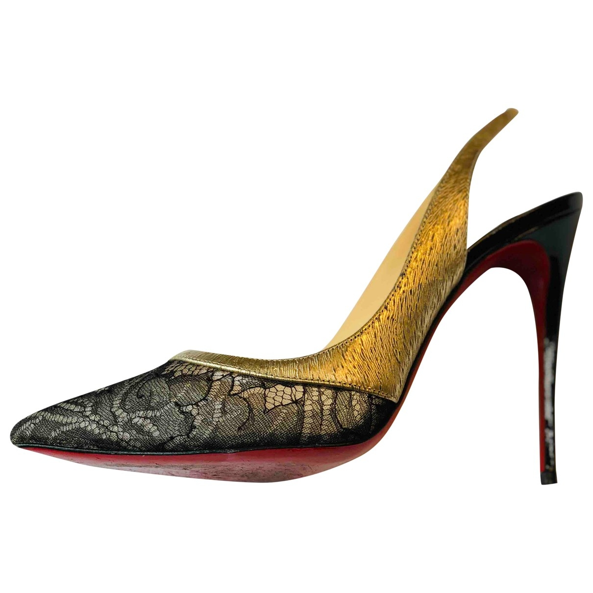 Christian Louboutin \N Multicolour Leather Heels for Women 37 EU