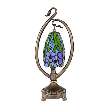 Dale Tiffany Grove Floral Accent Desk Lamp, One Size , Multiple Colors