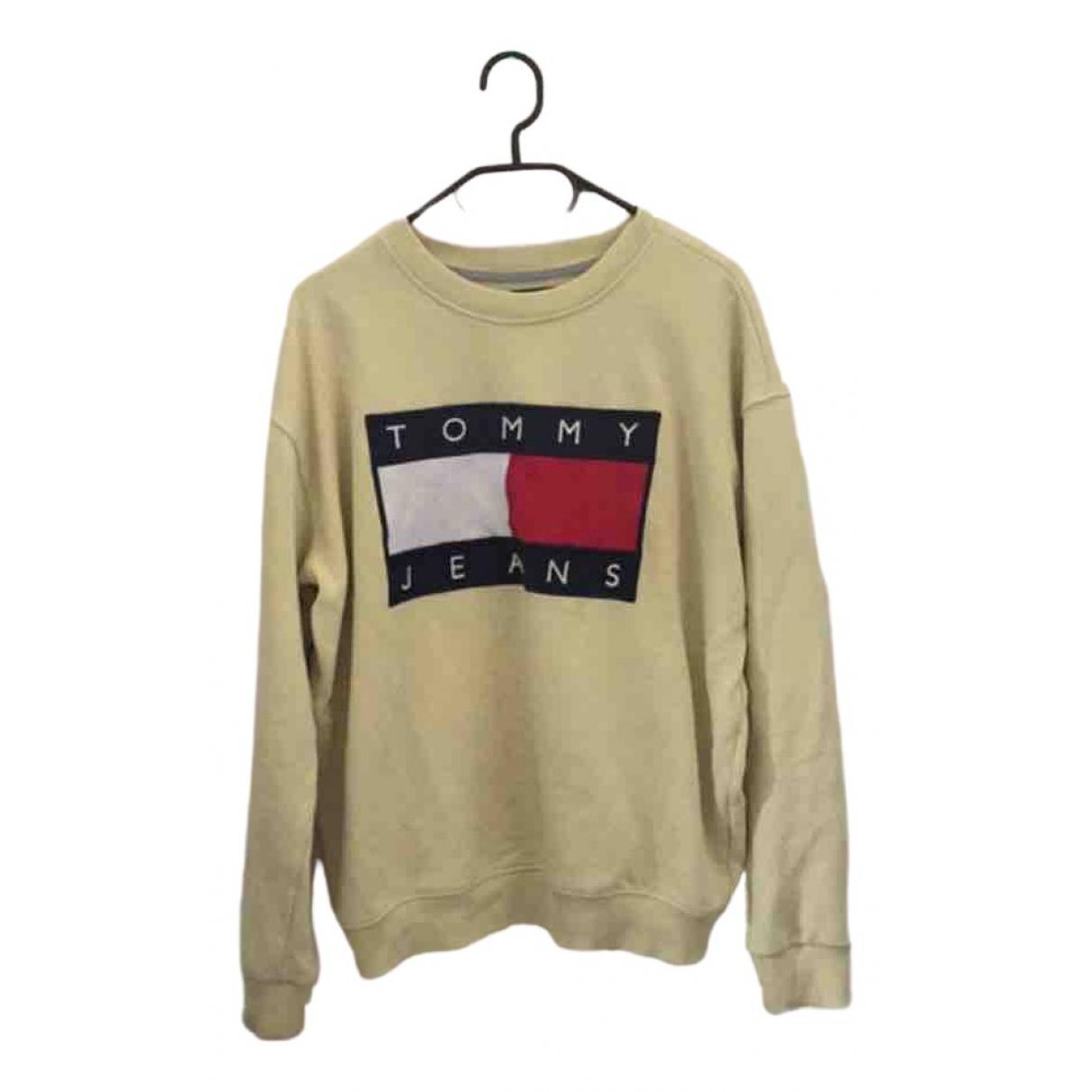 Tommy Hilfiger \N Yellow Cotton Knitwear for Women 38 FR