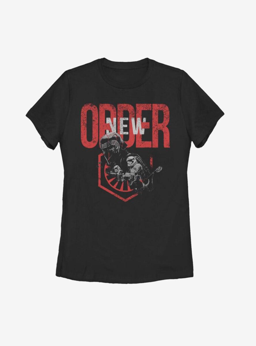 Star Wars Episode IX The Rise Of Skywalker New World Order Womens T-Shirt
