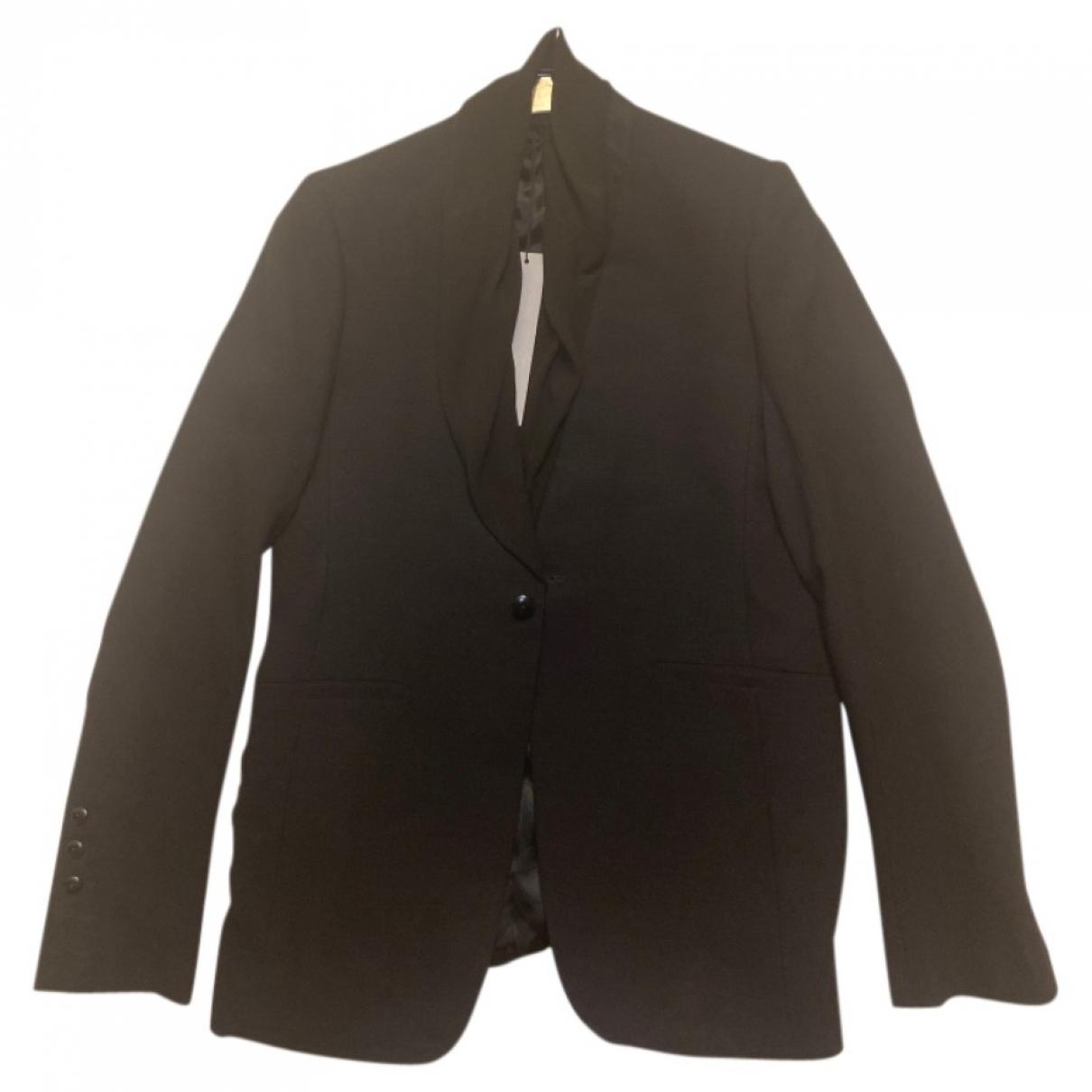 Rick Owens \N Black Wool jacket  for Men 52 IT