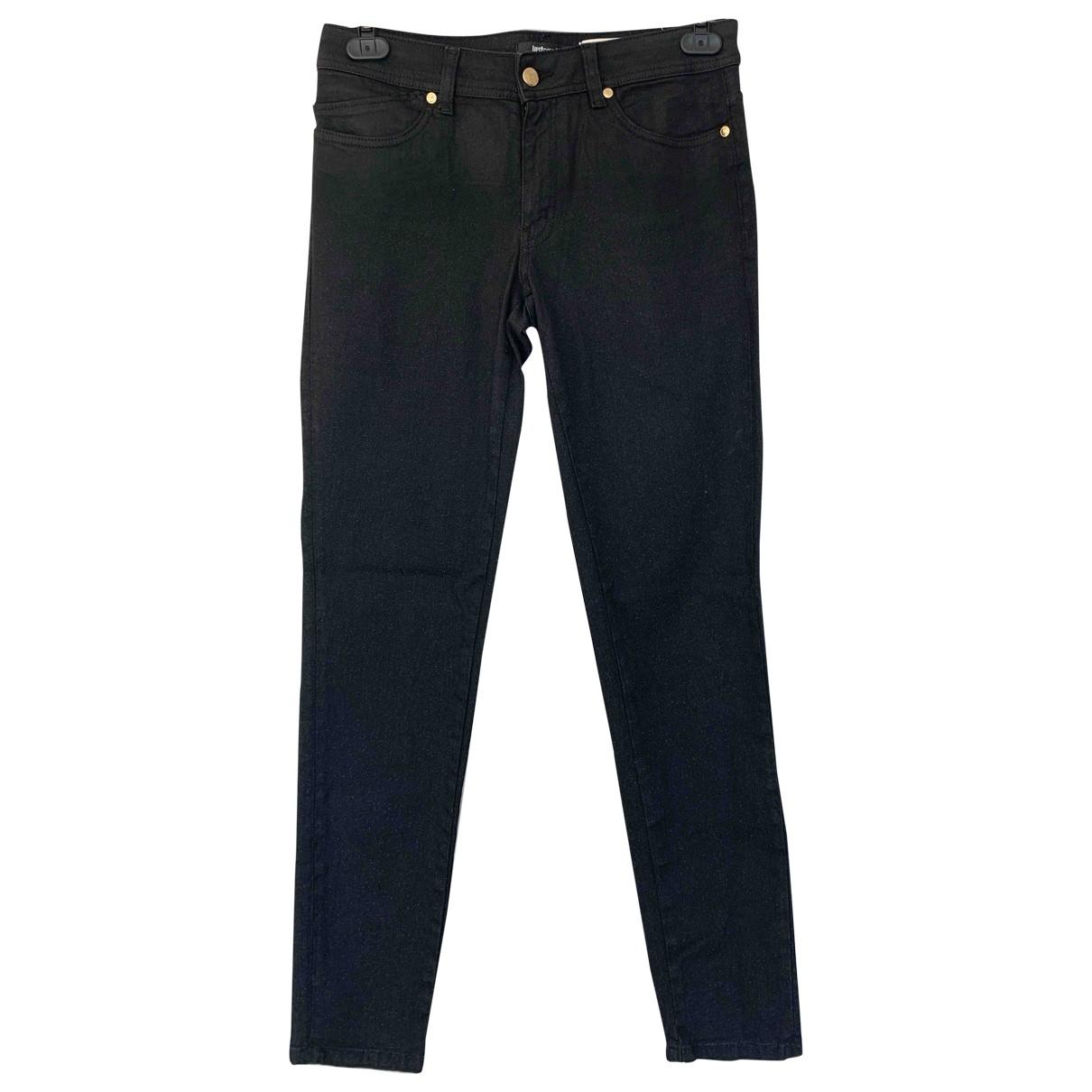 Just Cavalli \N Black Cotton - elasthane Jeans for Women 29 US