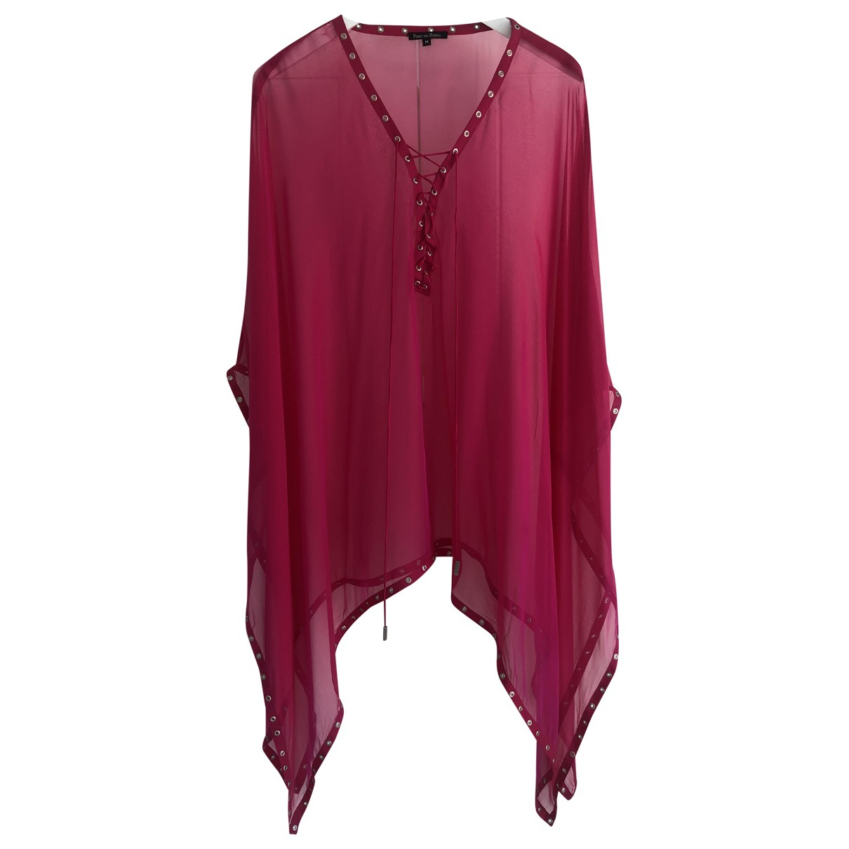 Pedro Del Hierro \N Pink Silk  top for Women M International