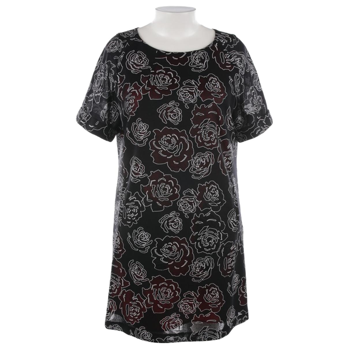 Talbot Runhof \N Black Cotton dress for Women 40 FR