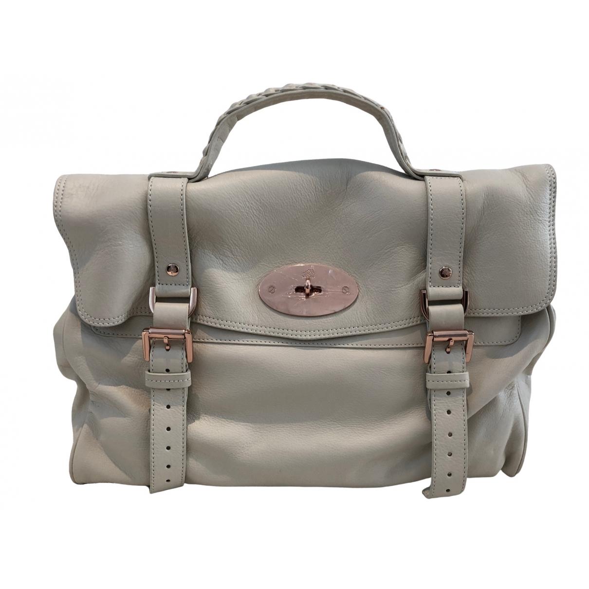 Mulberry Alexa Beige Leather handbag for Women \N