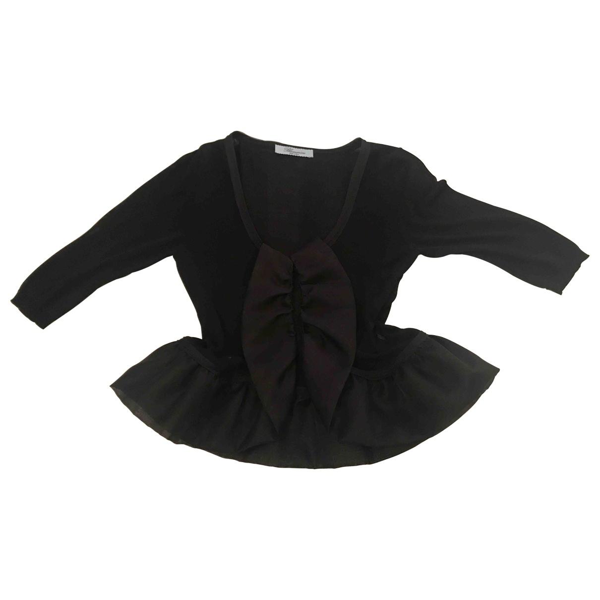 Blumarine \N Black Silk  top for Women 40 IT