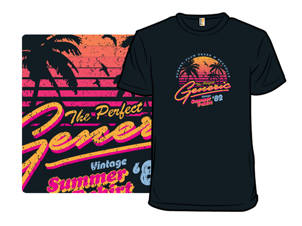 Generic Vintage Summer Shirt T Shirt