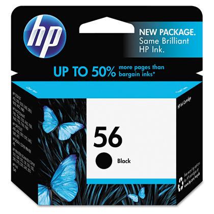 HP 56 C6656AN cartouche d'encre originale noire