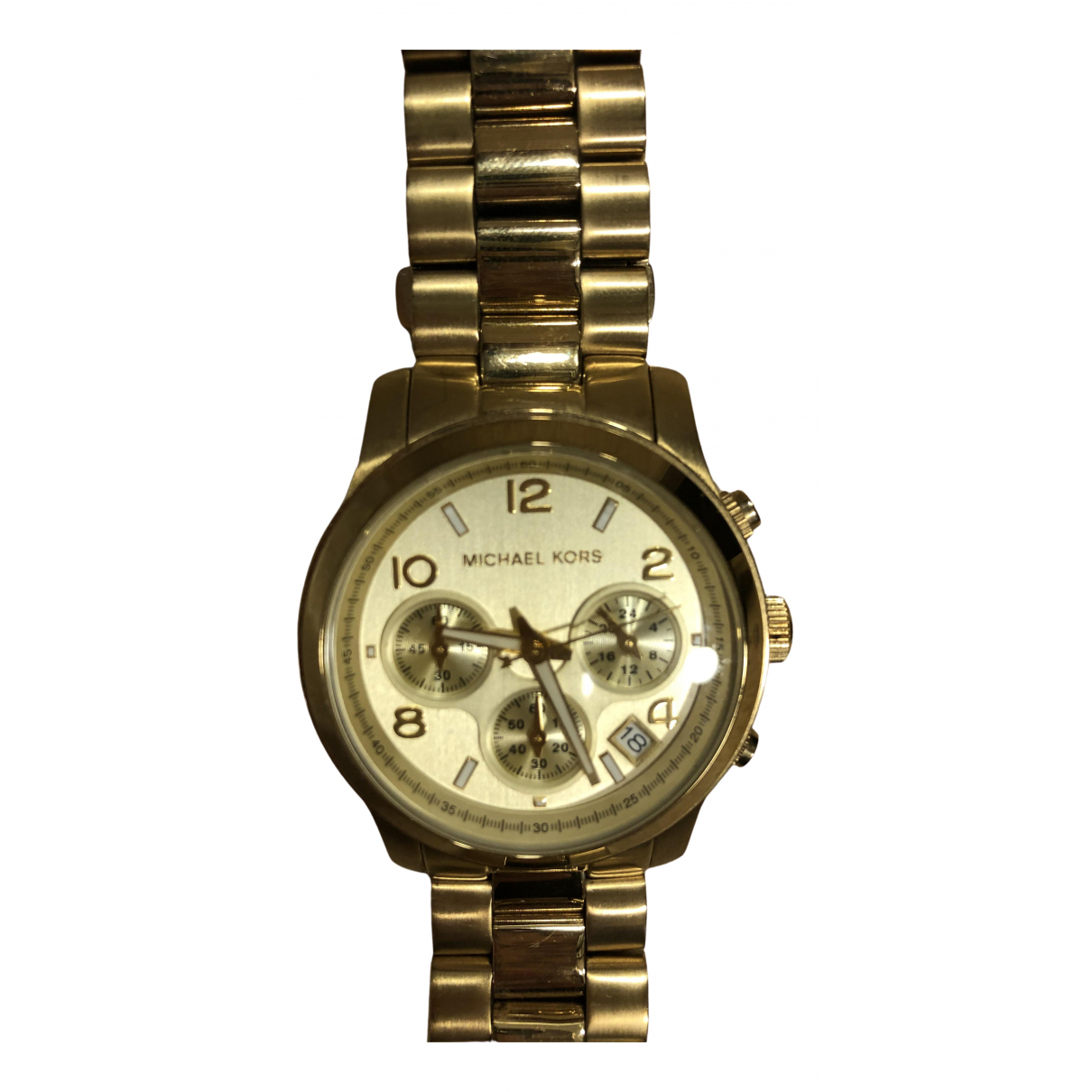 Michael Kors \N Gold Steel watch for Women \N