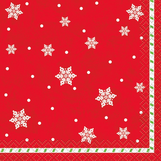 Snowman Pals Merry Christmas Beverage Napkins, 16Ct By Michaels®