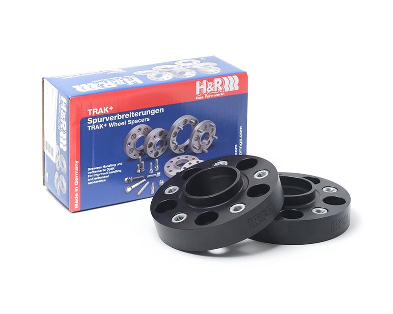 H&R 6065705 Trak+ | 5/114.3 | 70.5 | Stud | 1/2in. UNF | 30mm | DRM Wheel Spacer Ford GT500 Convertible V8 07-10