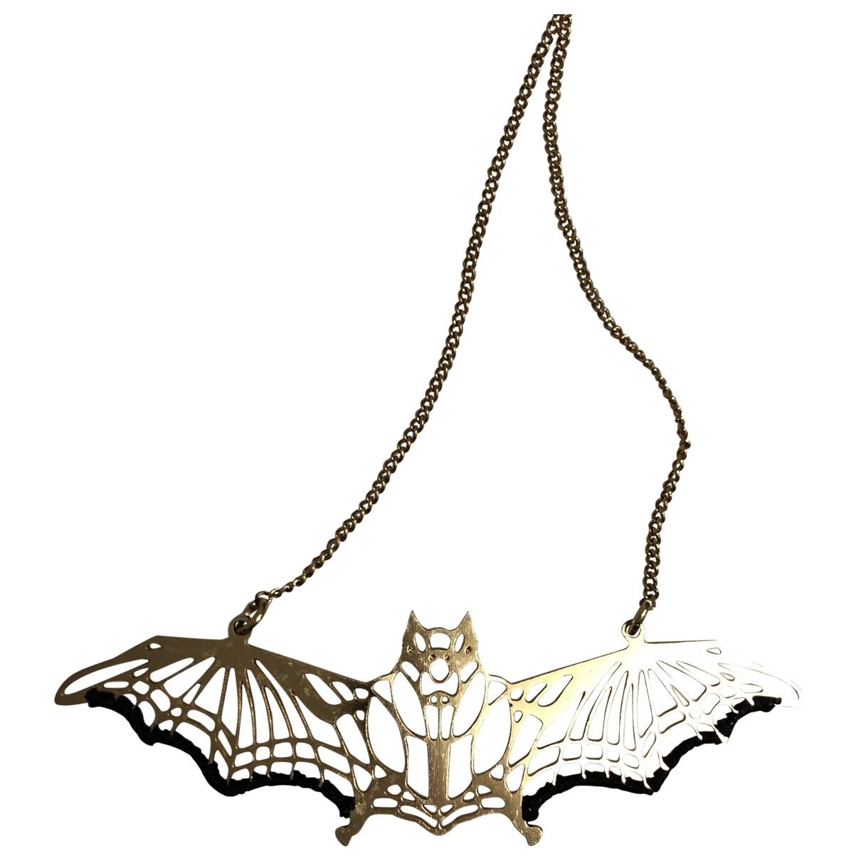 Les Néréides \N Gold Metal necklace for Women \N