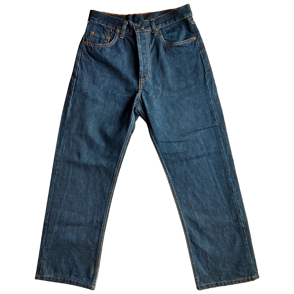 Levi's 501 Blue Cotton Jeans for Women 31 US
