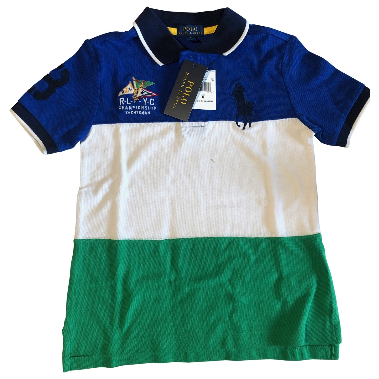 Polo Ralph Lauren \N Multicolour Cotton  top for Kids 6 years - up to 114cm FR