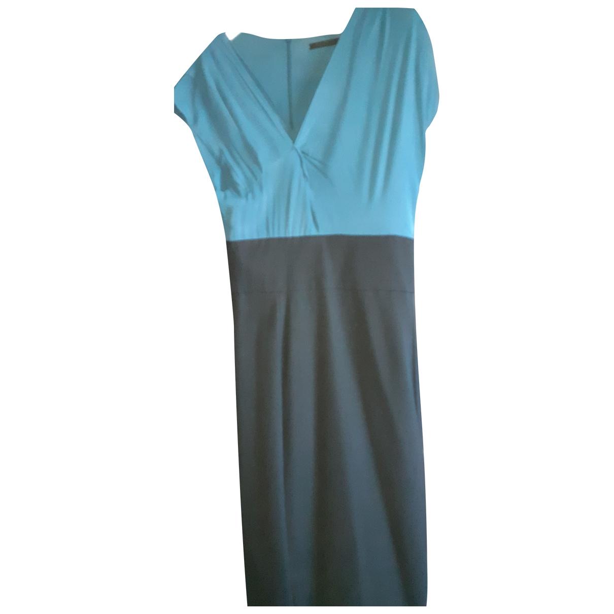Pinko \N Black Cotton - elasthane dress for Women 46 FR