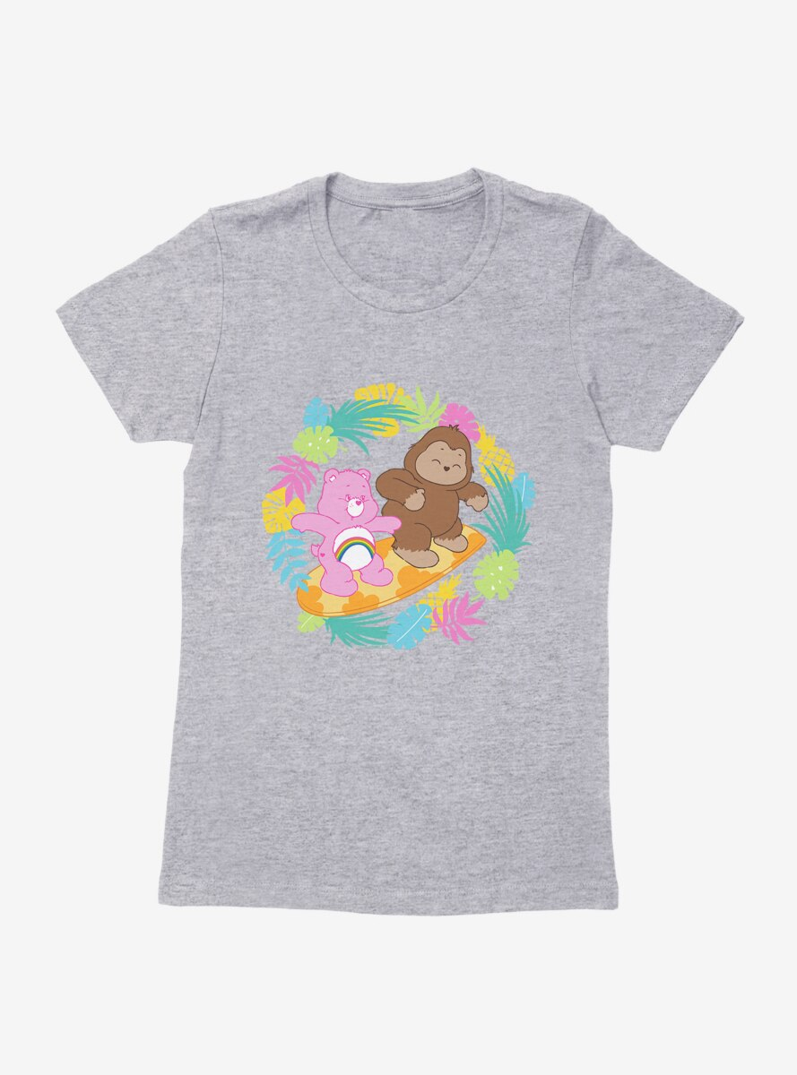 Care Bears Bigfoot Cheer Tropic Womens T-Shirt