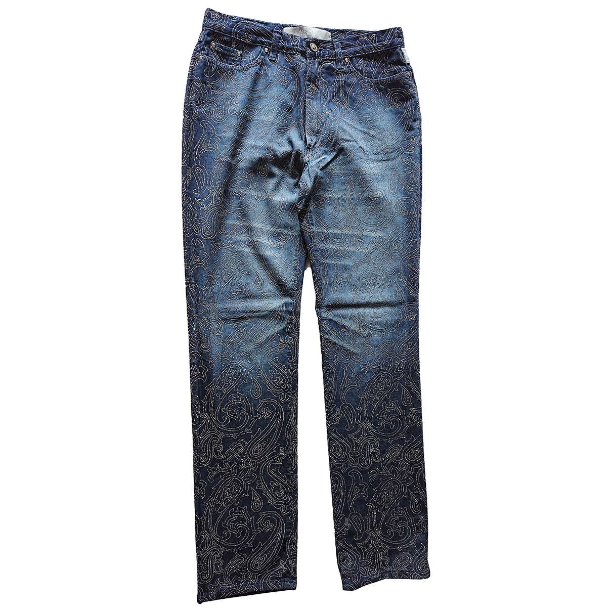 Versace Jeans \N Blue Cotton Jeans for Women 32 US