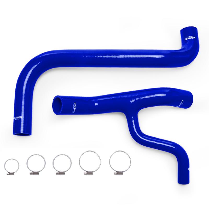 Mishimoto MMHOSE-F46-98BL Silicone Radiator Hose Kit (Blue | 4.6L) Ford F-150 1998-2004