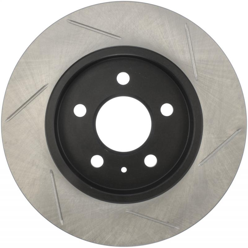 StopTech 126.33097SR Sport Slotted Brake Rotor; Rear Right Audi Rear Right