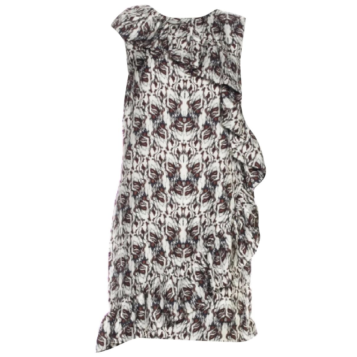 Thomas Wylde \N White Silk dress for Women S International