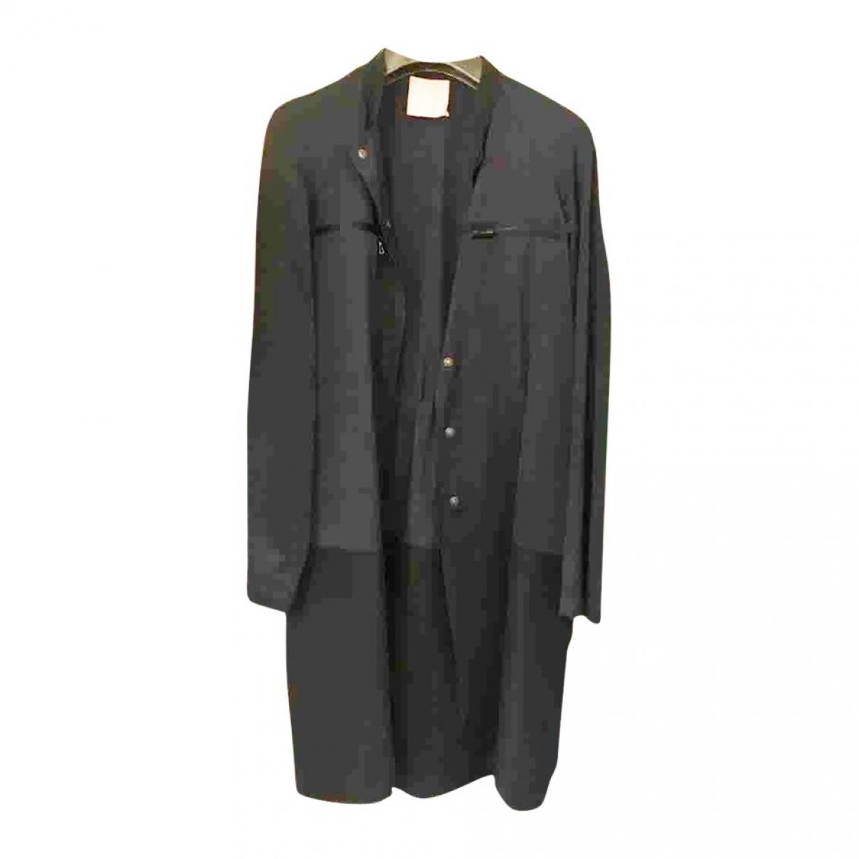 Lanvin \N Black coat for Women 44 IT