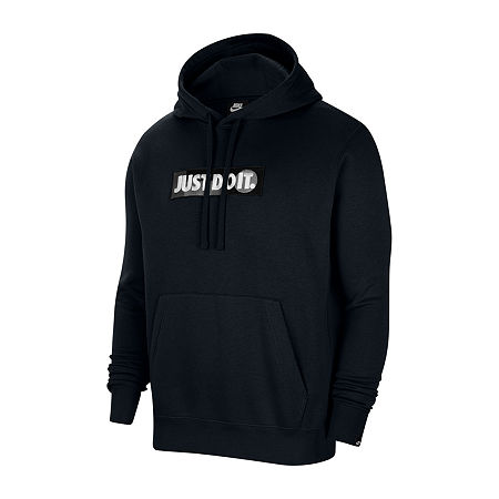 Nike Mens Long Sleeve Hoodie, Large , Black