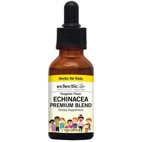 Echinacea Premium Blend Tangerine Kid 1 OZ by Eclectic Institute Inc