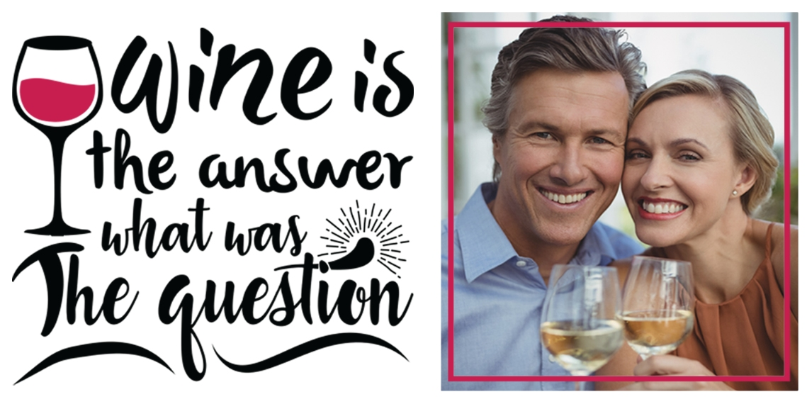 Everyday Insulated Wine Cup, Gift -Wine Answer