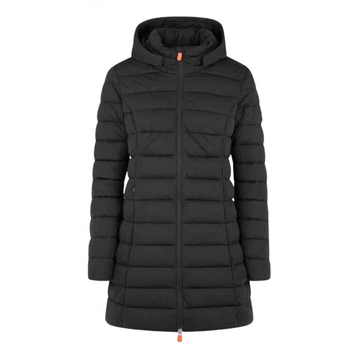 Save The Duck N Black coat for Women XS International