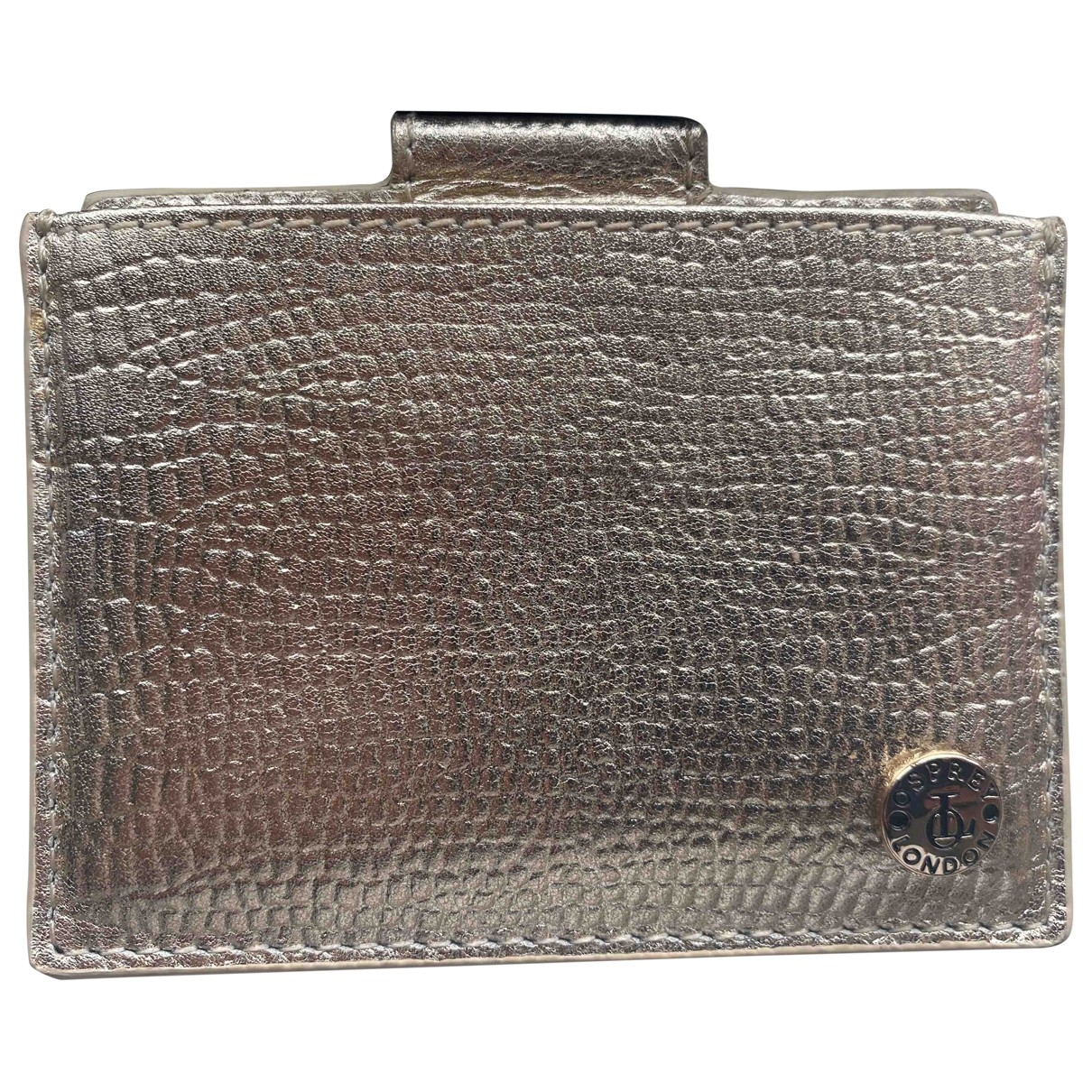 Osprey \N Gold Leather Purses, wallet & cases for Women \N