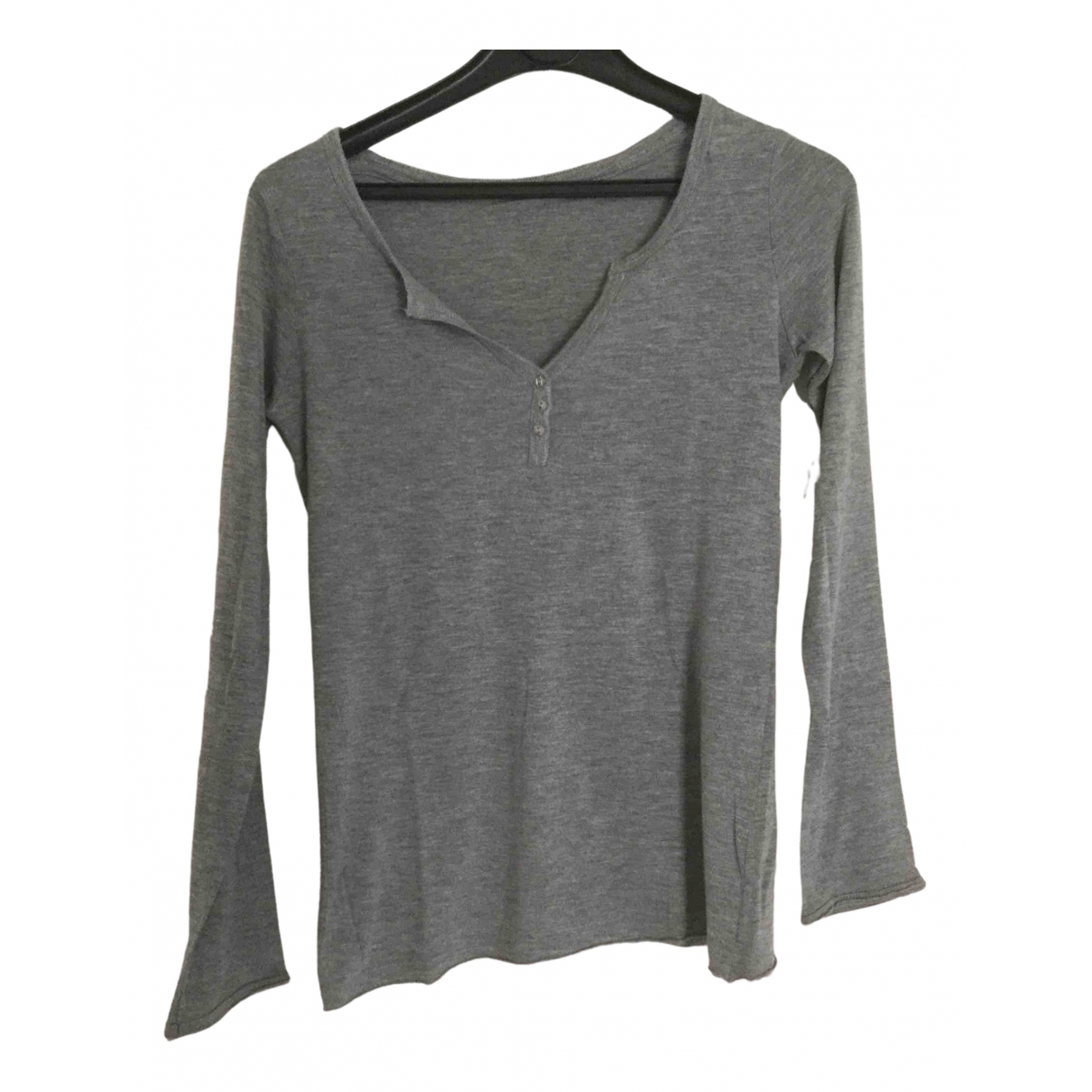 Berenice \N Grey Cotton  top for Women S International