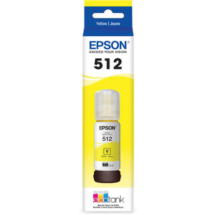 Epson EcoTank T512 T512420-S Original Yellow Ink Bottle