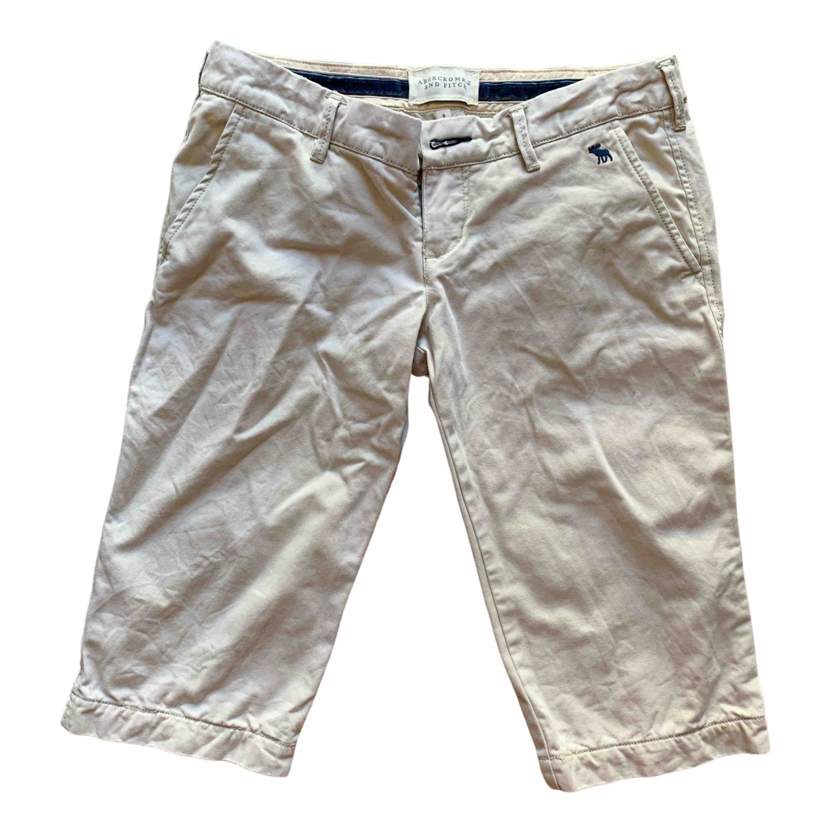 Abercrombie & Fitch \N Beige Cotton Shorts for Women S International
