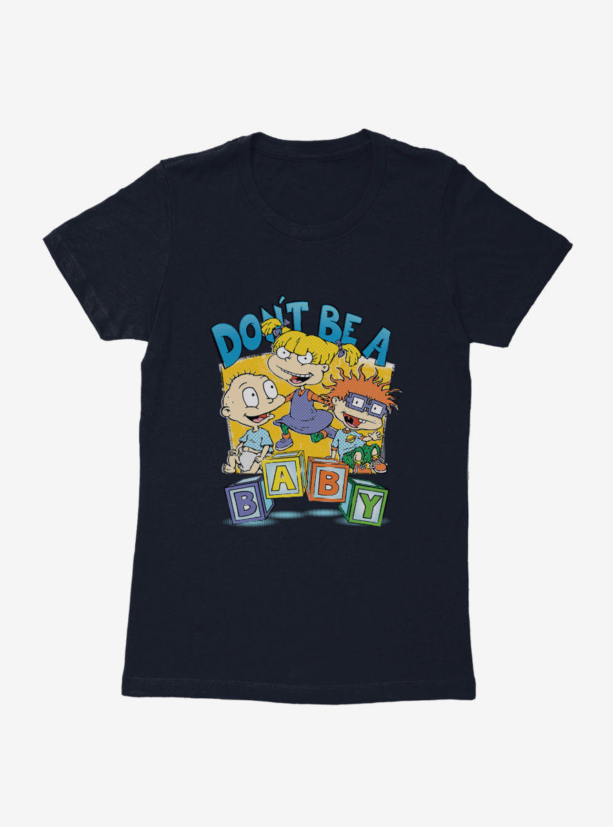 Rugrats Don't Be A Baby Womens T-Shirt