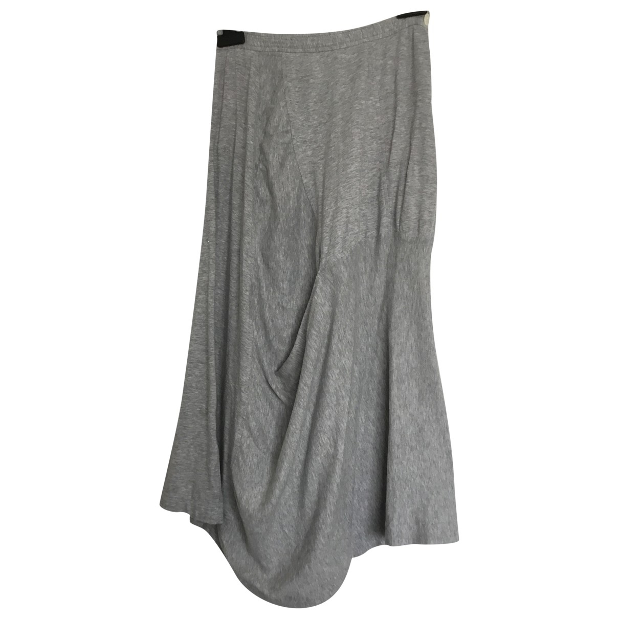 Comme Des Garcons \N Grey Cotton skirt for Women M International