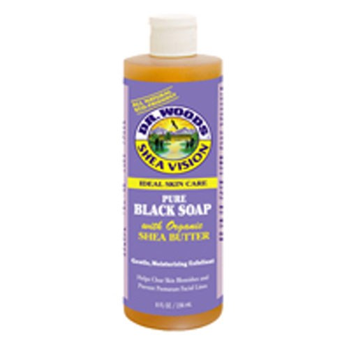 Black Soap With Shea Butter, 8 Oz by Dr.Woods Products