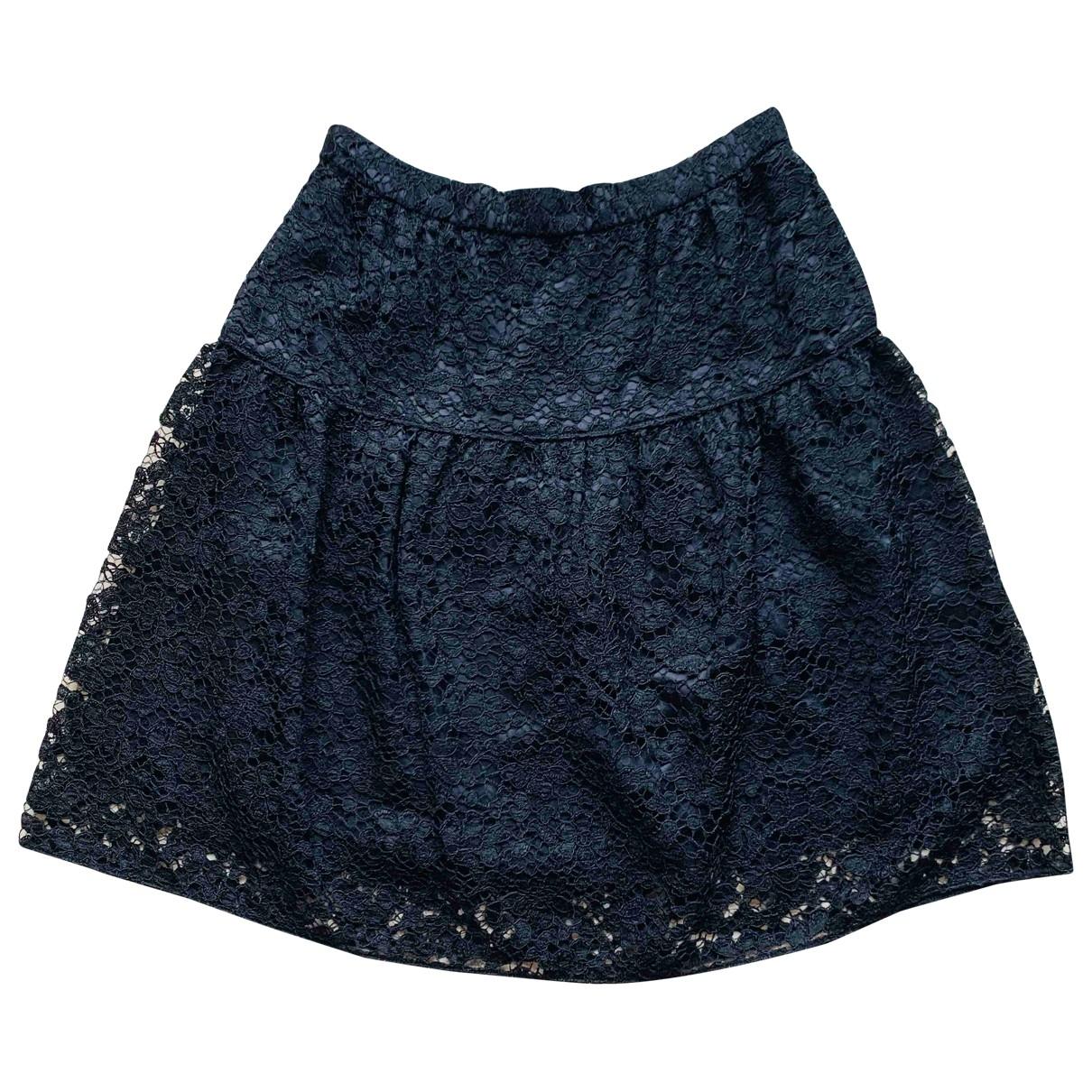 Dolce & Gabbana \N Black Cotton skirt for Women 38 IT