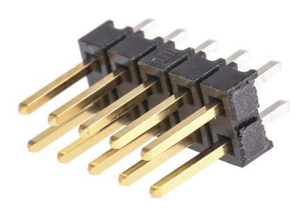 Samtec , TSW, 10 Way, 2 Row, Straight Pin Header