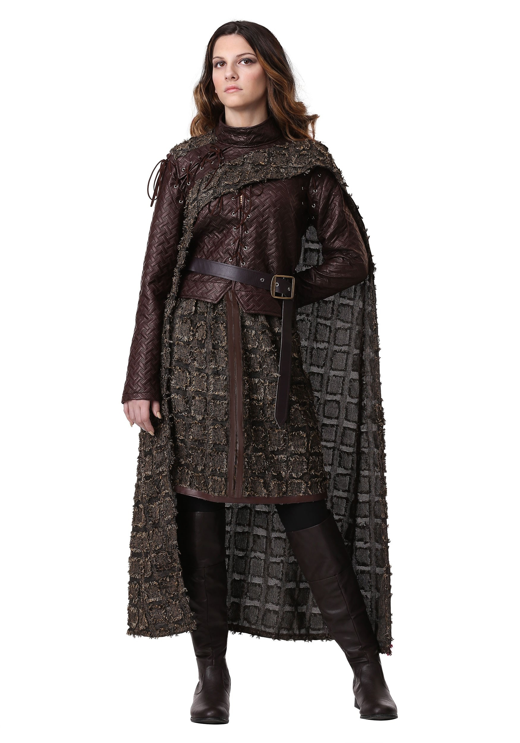 Winter Warrior Costume for Women | Exclusive W/ Cape & Jacket