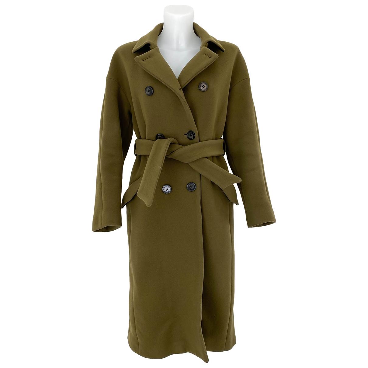 Whistles \N Green Wool coat for Women 10 UK